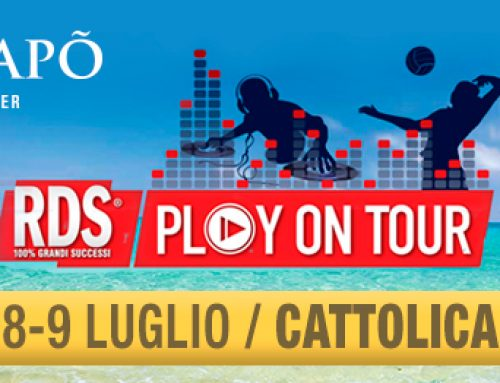 S'AGAPO' ACCENDE L'ESTATE CON RDS PLAY ON TOUR
