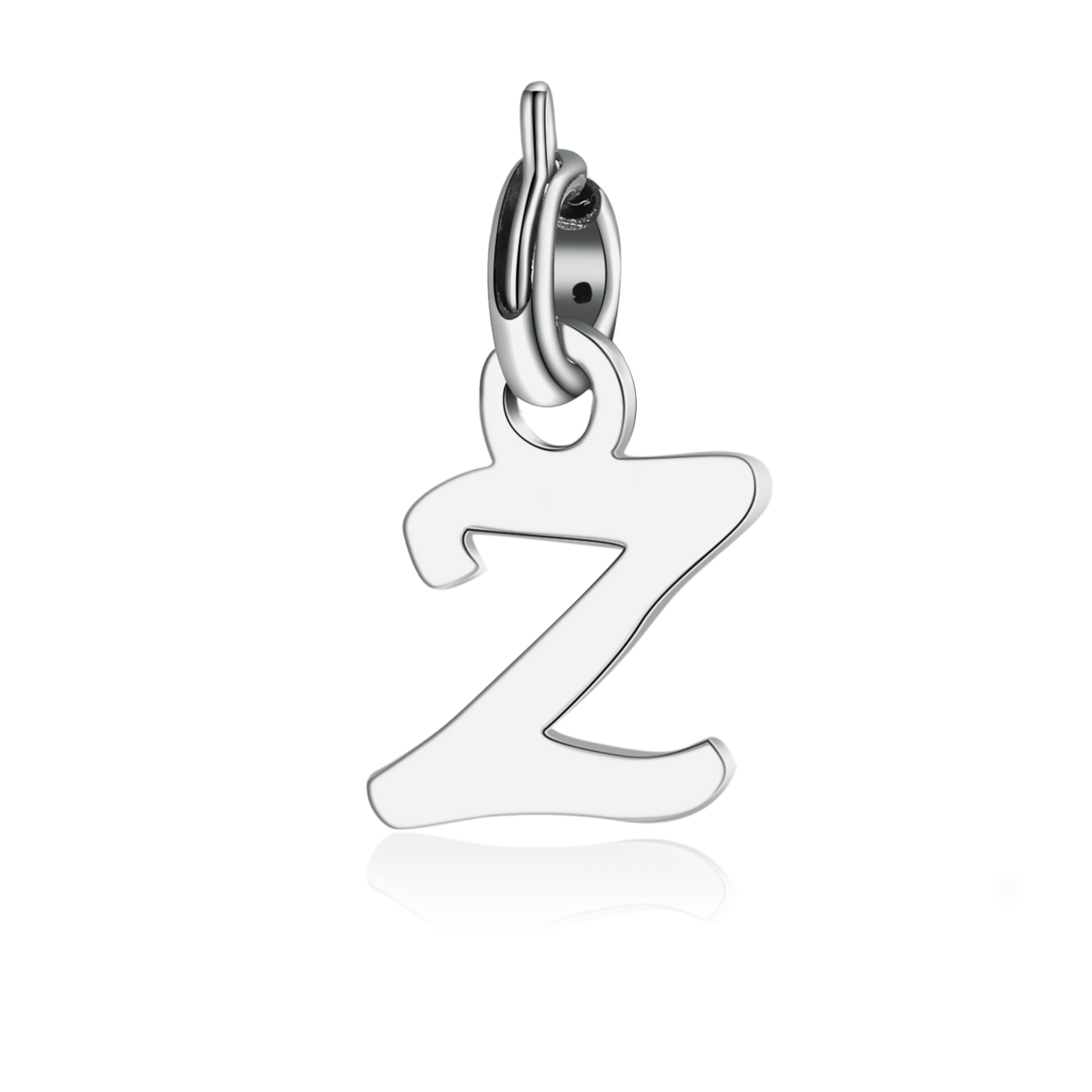 charms acciaio donna letters