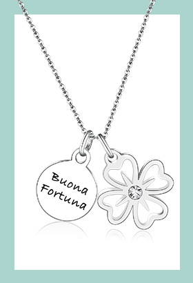 Collana you buona fortuna - Enjoy Every Moment