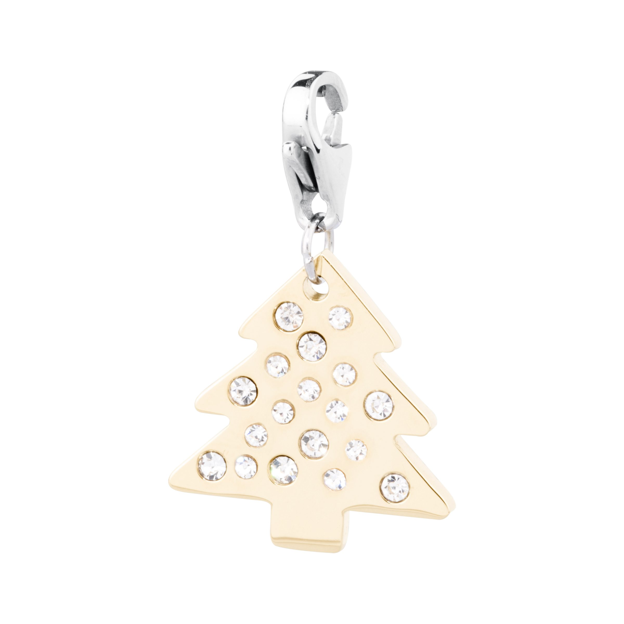 charms acciaio donna happy